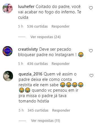 """Evaristo Costa diz que bloqueou Padre Fábio de Melo e brinca: \""""Se restabeleceu a paz\"""""""