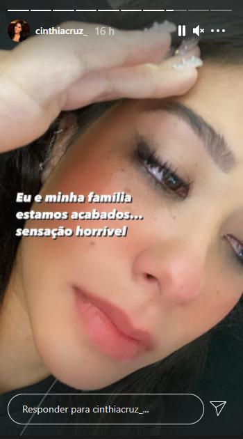 """Atriz de Chiquititas lamenta morte morte do pai: \""""Muita dor\"""""""