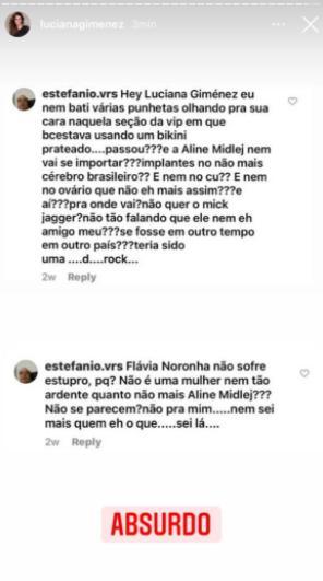 """Luciana Gimenez desabafa após sofrer assédio: \""""Vulgaridade\"""""""