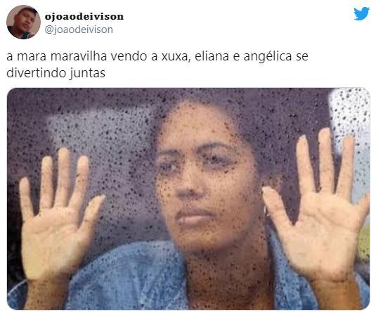 Mara Maravilha se pronuncia após encontro entre Xuxa, Angélica e Eliana