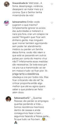 """Andressa Urach causa polêmica ao criticar quarentena: \""""Absurdo tudo isso\"""""""