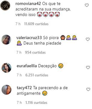 """Andressa Urach é criticada após anunciar retorno ao Miss Bumbum: \""""Decepção\"""""""