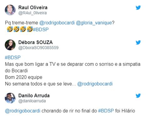 Rodrigo Bocardi tem crise de riso ao vivo no Bom Dia São Paulo