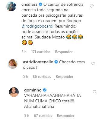 Ana Paula Araújo faz brincadeira com pode de Rodrigo Bocardi e diverte internautas