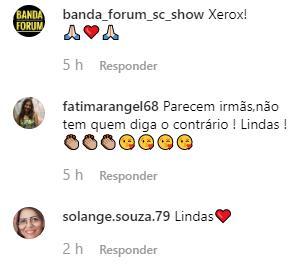 """Emanuelle Araújo surpreende fãs ao aparecer em foto rara com filha de 25 anos: \""""Xerox\"""""""