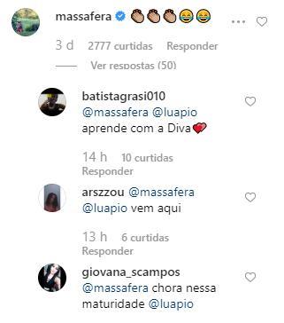 Grazi Massafera comenta em foto onde Cauã Reymond aparece de toalha e fãs reagem