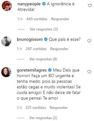 """Gustavo Mendes revela ameaça de morte: \""""Temo por minha vida e de minha família\"""""""
