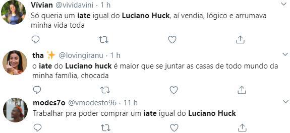 Luciano Huck é flagrado com a família em luxuoso iate de R$ 30 milhões