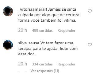 Namorada de Rafael Miguel desabafa e pede perdão à irmã do ator