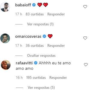 "Ator Jesuíta Barbosa se declara para fotógrafo: \""Meu amor\"""