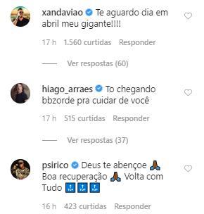 """Leo Santana explica cirurgia e tranquiliza os fãs: \""""GG tá bem\"""""""