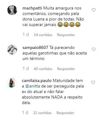 Piovani debocha de Anitta após cantora desabafar sobre críticas ao seu figurino