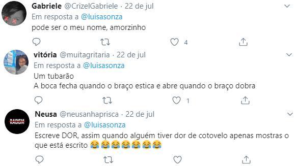 Luísa Sonza promete fazer tatuagem em cotovelo que internautas viram rosto de Bolsonaro