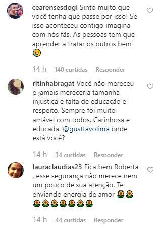 Roberta Miranda é barrada por segurança em show de Gusttavo Lima e faz desabafo