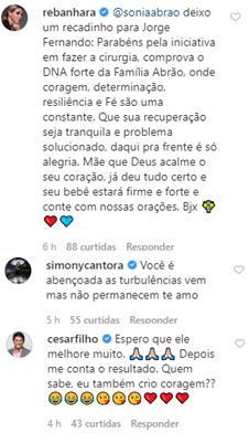 Sonia Abrão fala sobre cirurgia complicada do filho