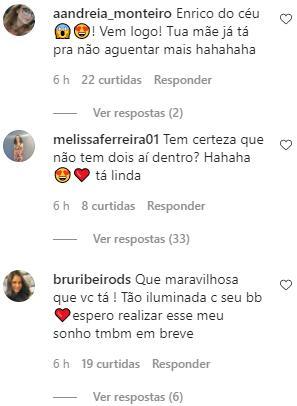 Sthefany Brito nega nascimento do filho e revela que Instagram foi hackeado