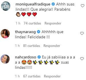 Vitória Strada anuncia noivado com Marcella Rica em rede social