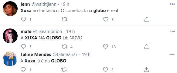 Internautas torcem por volta de Xuxa à Globo após entrevista ao Fantástico