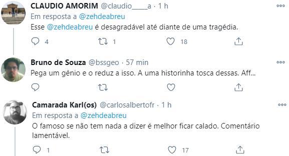 """José de Abreu é detonado após relembrar encontro com Maradona: \""""Gordo e bravo\"""""""