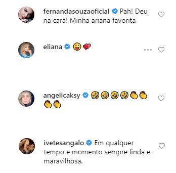 """Xuxa usa aplicativo de envelhecimento e Junno reage: \""""Nossa\"""""""