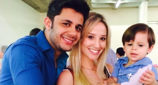 Cristiano Araújo, Elisa Leite e Bernardo
