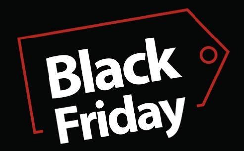 Tela escrito Black Friday