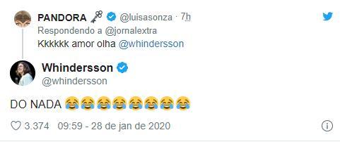 Whindersson Nunes e Luísa Sonza reagem sobre suposta crise no casamento