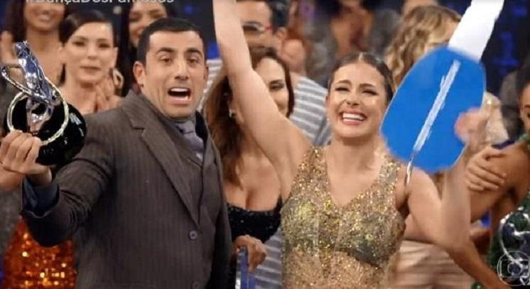 Kaysar, o último vencedor da Dança dos Famosos.