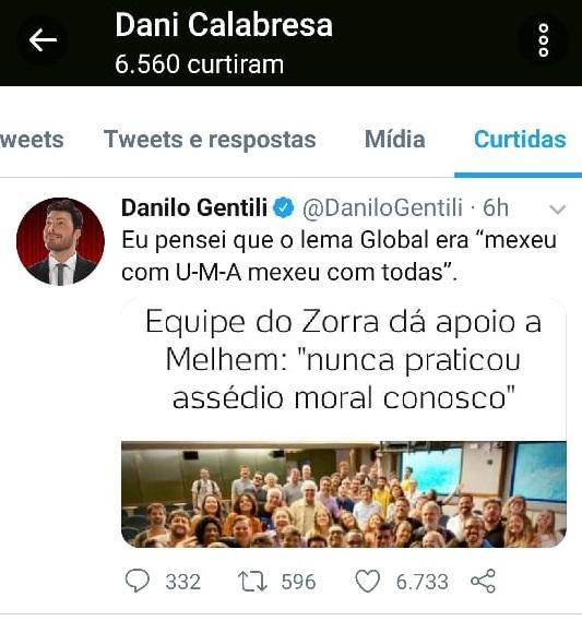 Danilo Gentili critica elenco do Zorra e Dani Calabresa curte