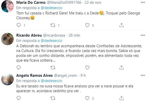 """César Menotti revela paixão por Deborah Secco e atriz responde: \""""Amigos\"""""""