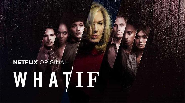 """Banner da série """"Dilema"""" com o nome original """"What/If"""""""