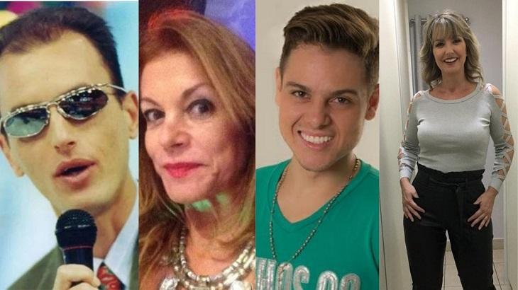 Rodolfo, Silva Kieling, Daniboy e Alessandra Scatena