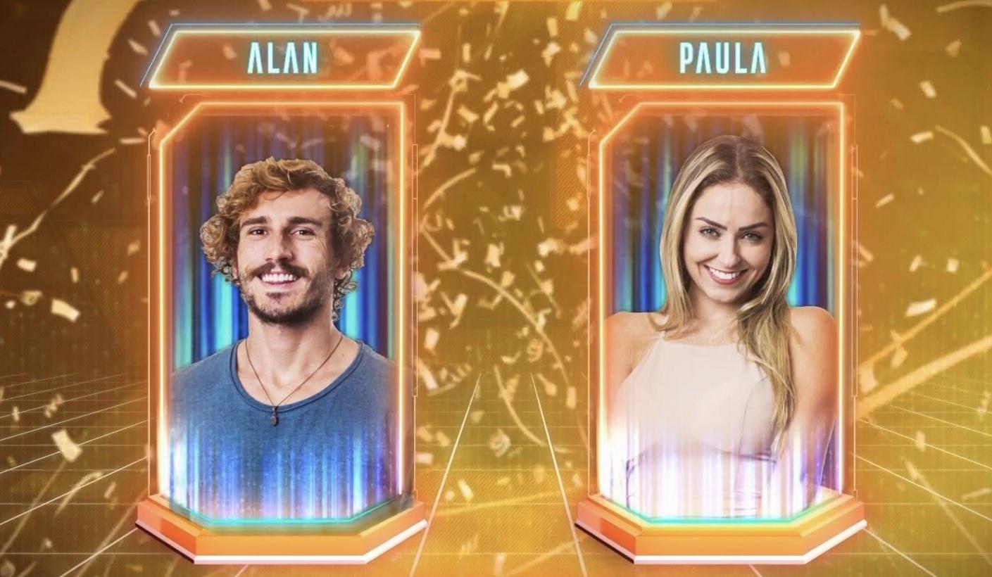 Alan e Paula votação