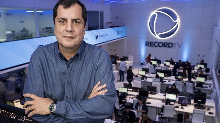 Marcos Nascimento diretor de jornalismo da Record Rio