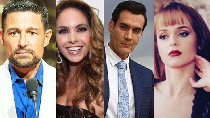 Montagem com estrelas mexicanas do SBT