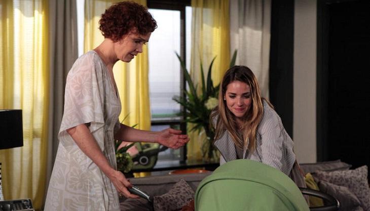 Cena de Fina Estampa com Esther e Beatriz