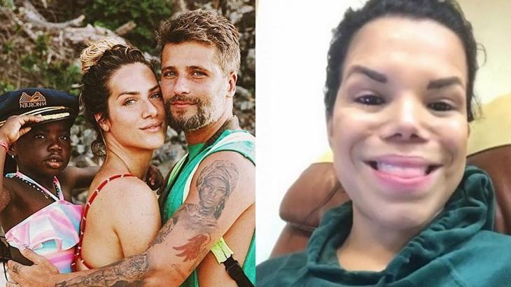 Bruno Gagliasso, Giovanna Ewbank e Titi em processo contra Day McCarthy