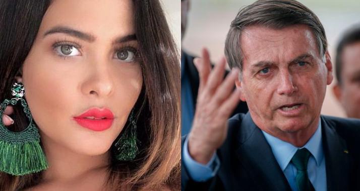 Geisy Arruda e Jair Bolsonaro