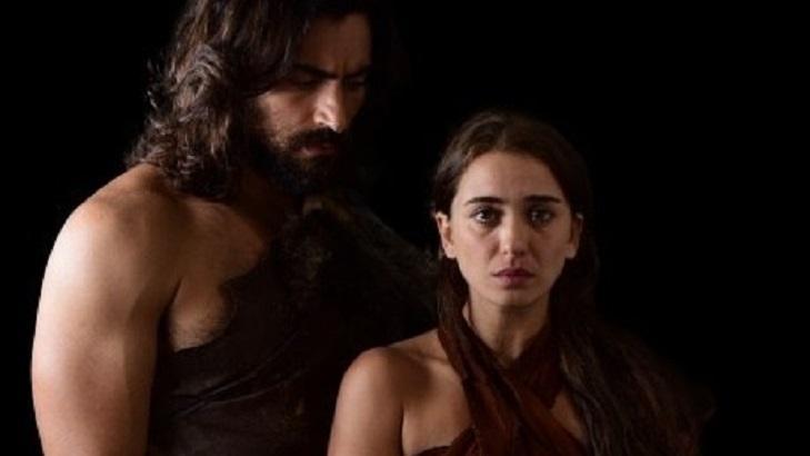 Cena de Gênesis com Adão e Eva