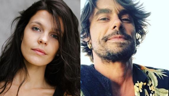 Giovana Echeverria e Luiz Carlos Guimarães Salles Neto