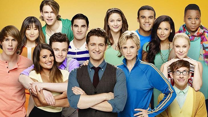 Foto de divulgação de Glee