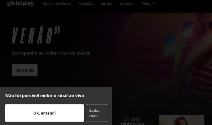 Alto custo e problema contratual emperram Globo ao vivo no streaming pelo país