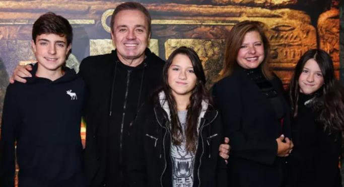 Gugu, Rose Miriam e filhos