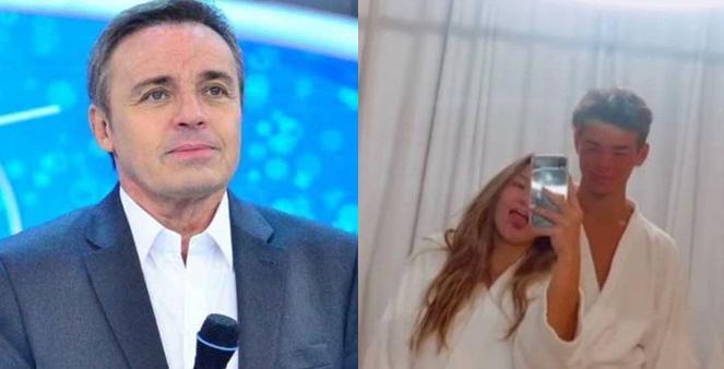 Gugu, Marina e Felipe Lessa