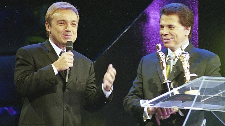 Gugu Liberato e Silvio Santos