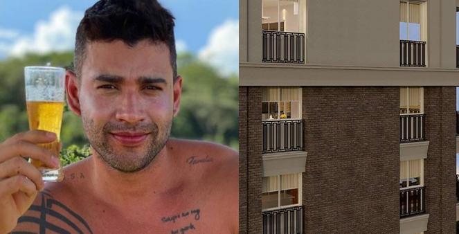 Gusttavo Lima e novo apartamento