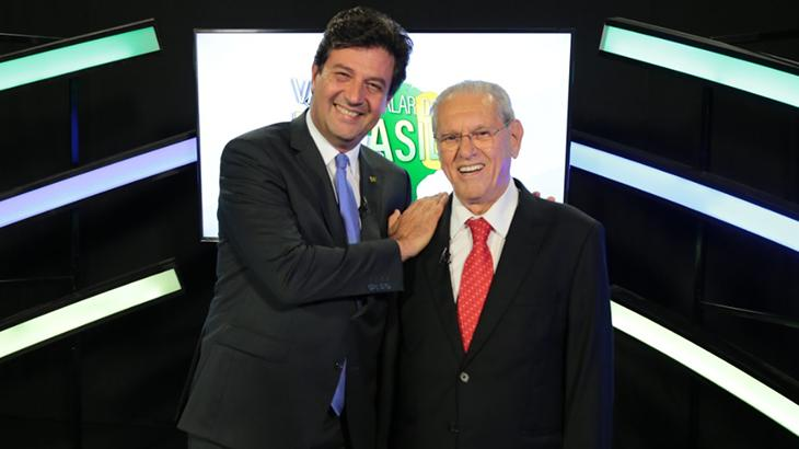 Joseval Peixoto e Luiz Henrique Mandetta