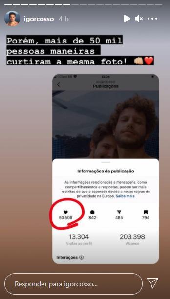 Ator de Salve-se Quem Puder publica foto com namorado e perde seguidores