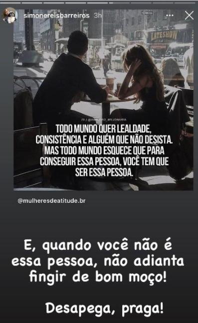Nego do Borel anuncia fim de noivado com Duda Reis e sogra manda indireta