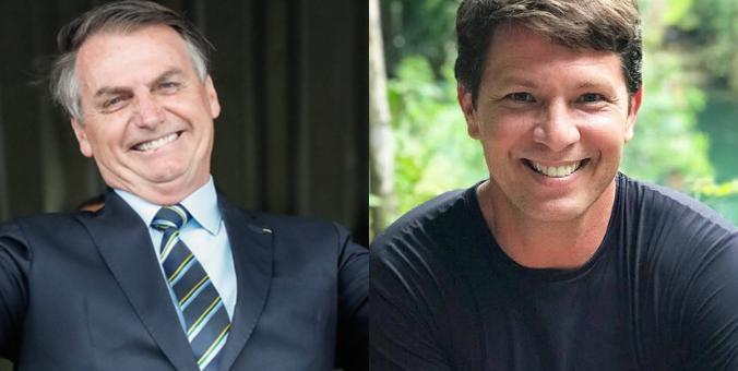 Jair Bolsonaro e Mario Frias